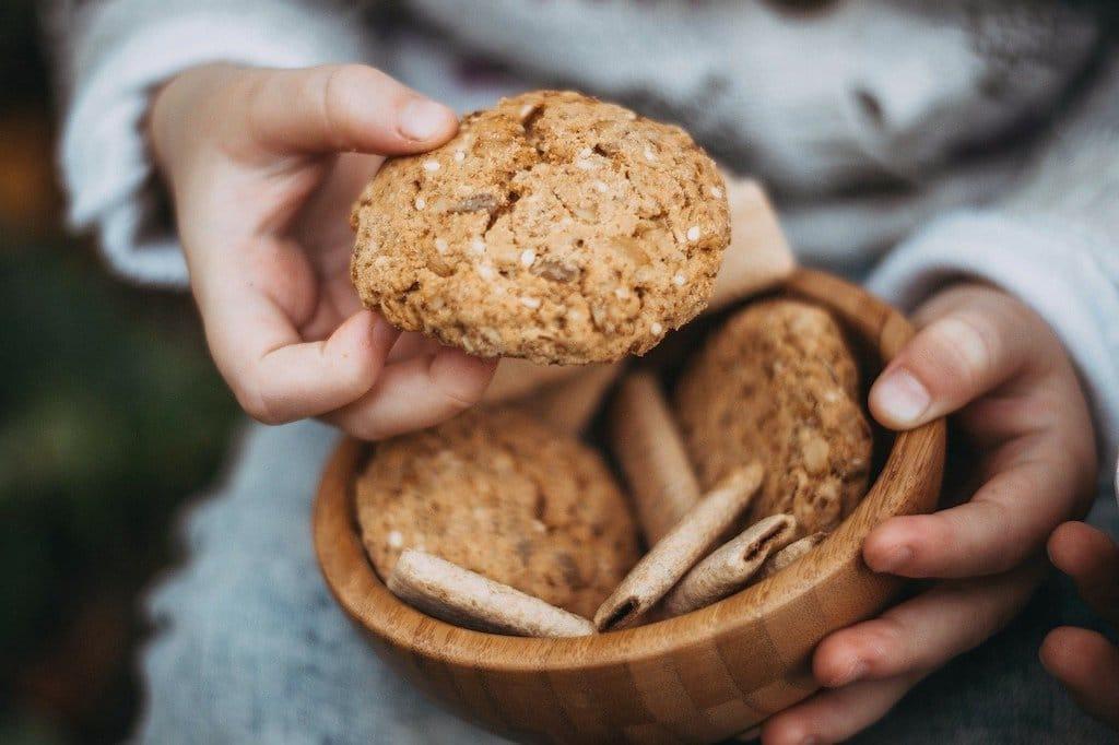 Ciasteczka owsiane z chia