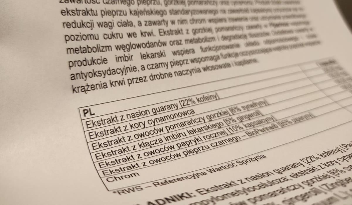 skład tabletek piperinox