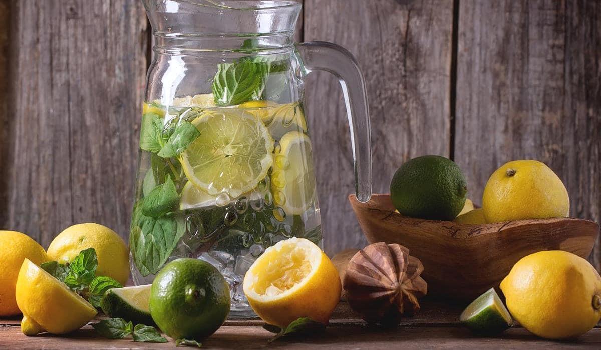 woda z cytryną na odchudzanie