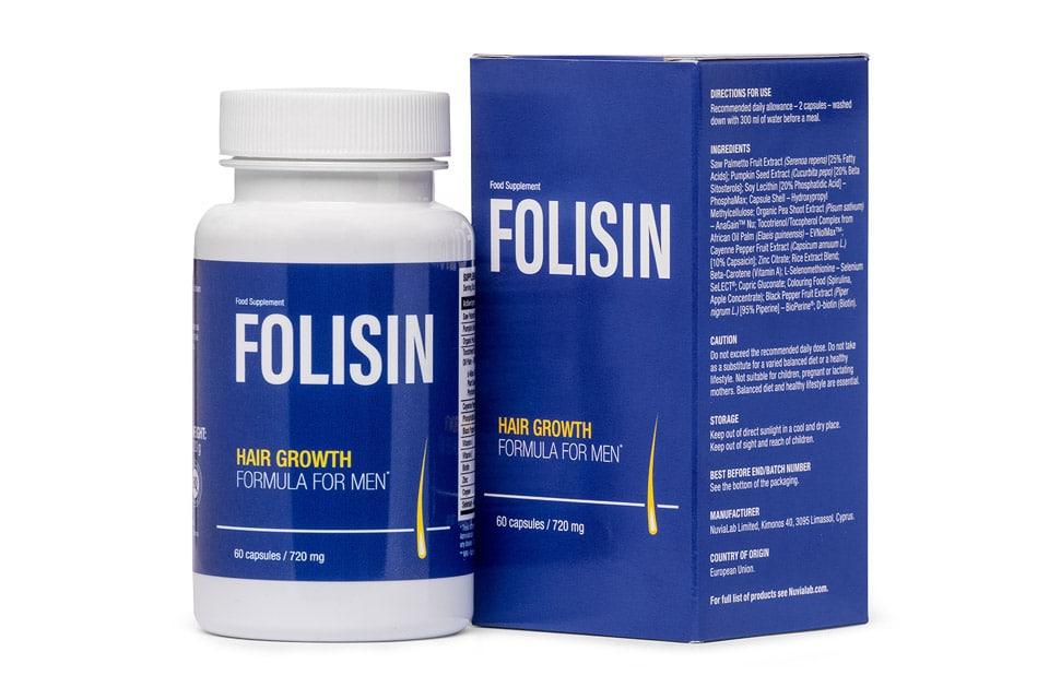 Folisin - tabletki na porost włosów dla mężczyzn