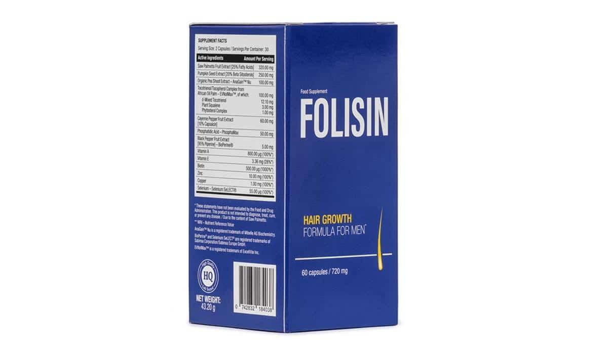 skład tabletek Folisin