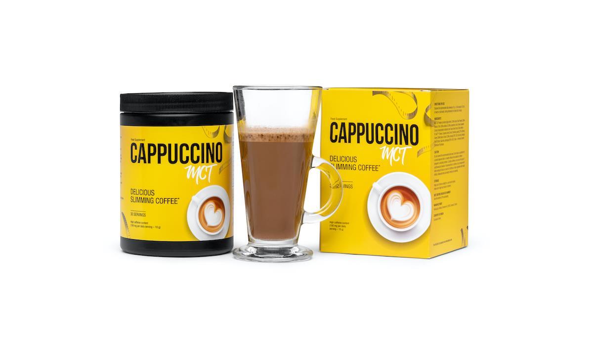 Smak, zapach Cappuccino MCT