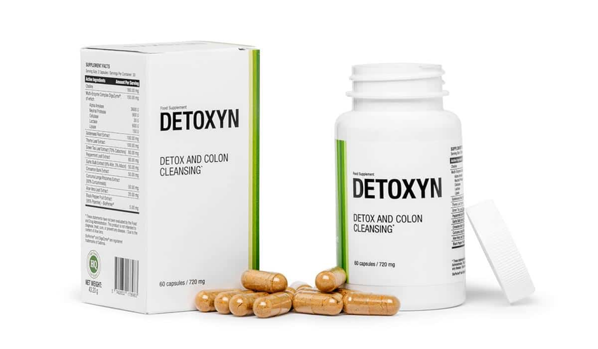 Skład tabletek Detoxyn