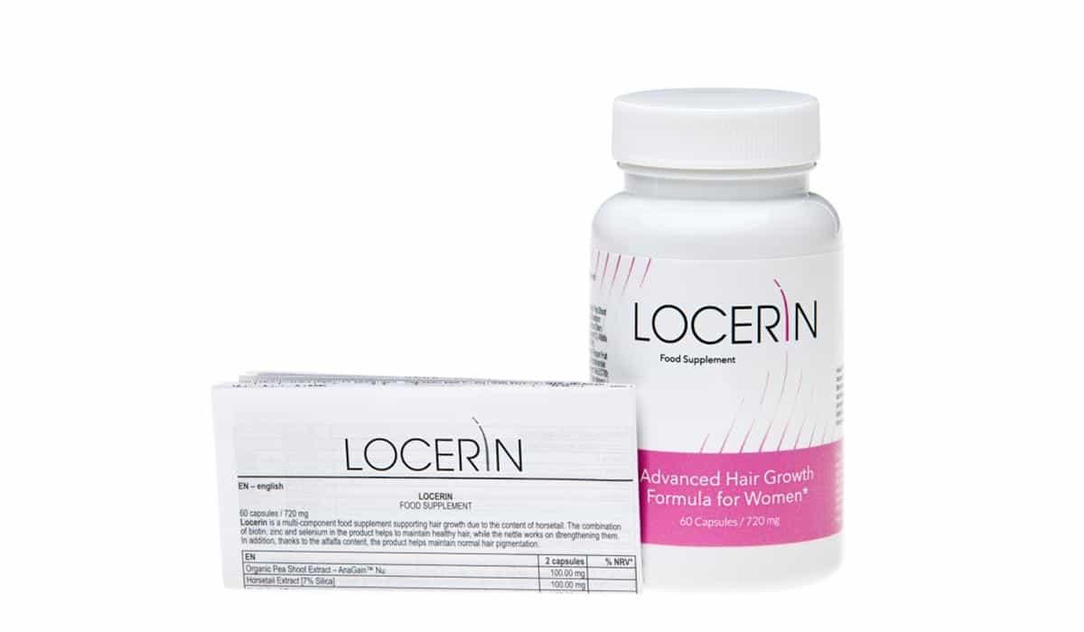 skład tabletek Locerin
