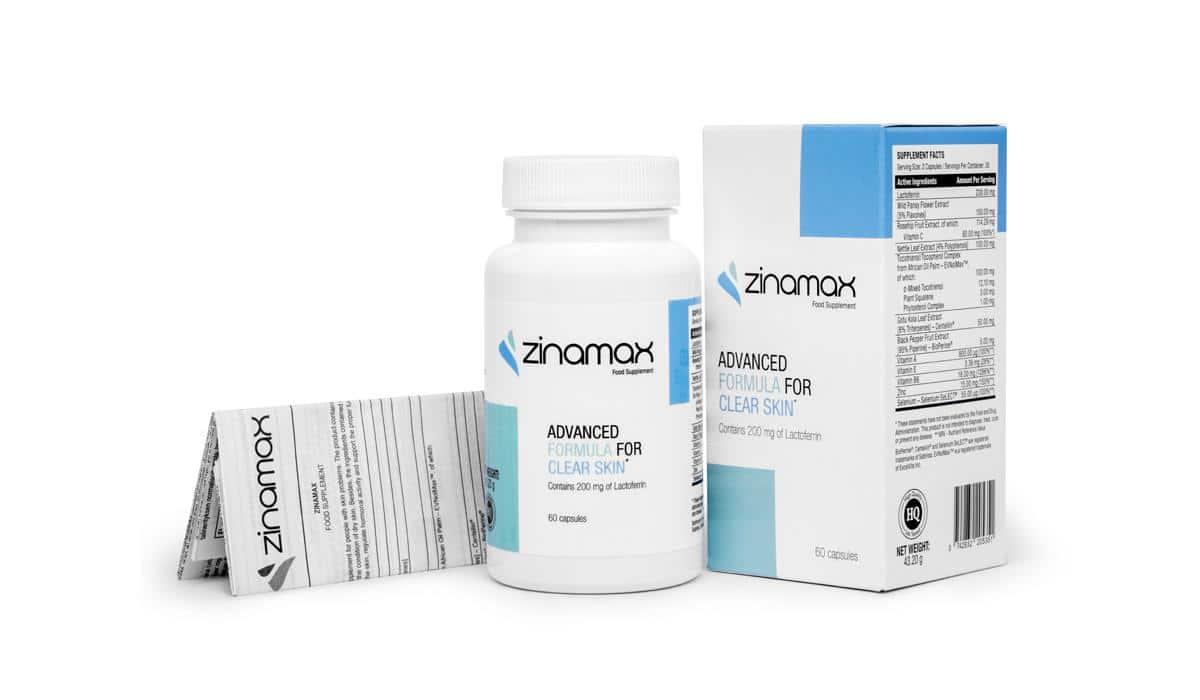 Skład tabletek Zinamax