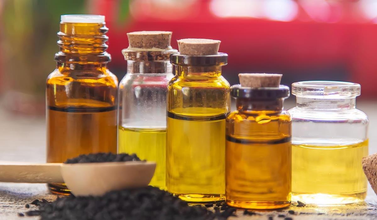 różne rodzaje olejów