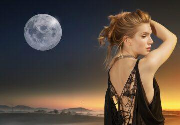 księżyc a włosy